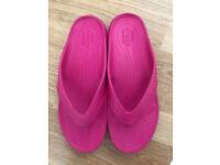 Crocs for sale Female Womens Girls Size 8 + unicorn socks brand-new as a free gift