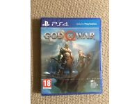 Brand New! God of War PS4 game. Boxed sealed