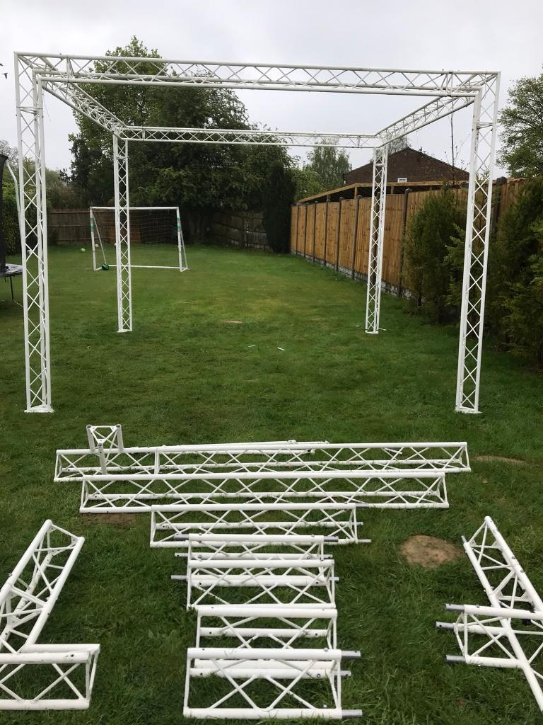 Modular Exhibition Stands Yard : Stage modular mobile stage lighting rig exhibition stand in