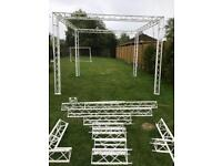 Stage Modular mobile stage / lighting rig / exhibition stand