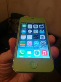 Iphone 4 mint green on ee perfect working order mint