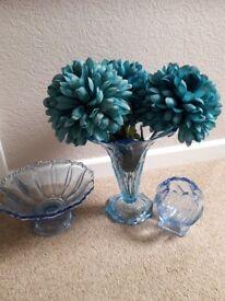 Blue Bagley Glass