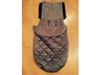 Mothercare universal cosytoes / footmuff