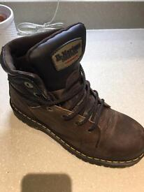 Dr Martin work boots been worn for one day!!!