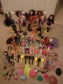JOBLOT: Monster High Dolls