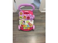 Baby push along walker. Free to collector