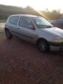 Renault clio, spare or repair