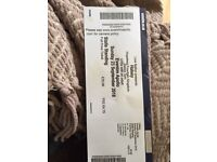HALSEY TICKET FOR SATURDAY 23RD LONDON