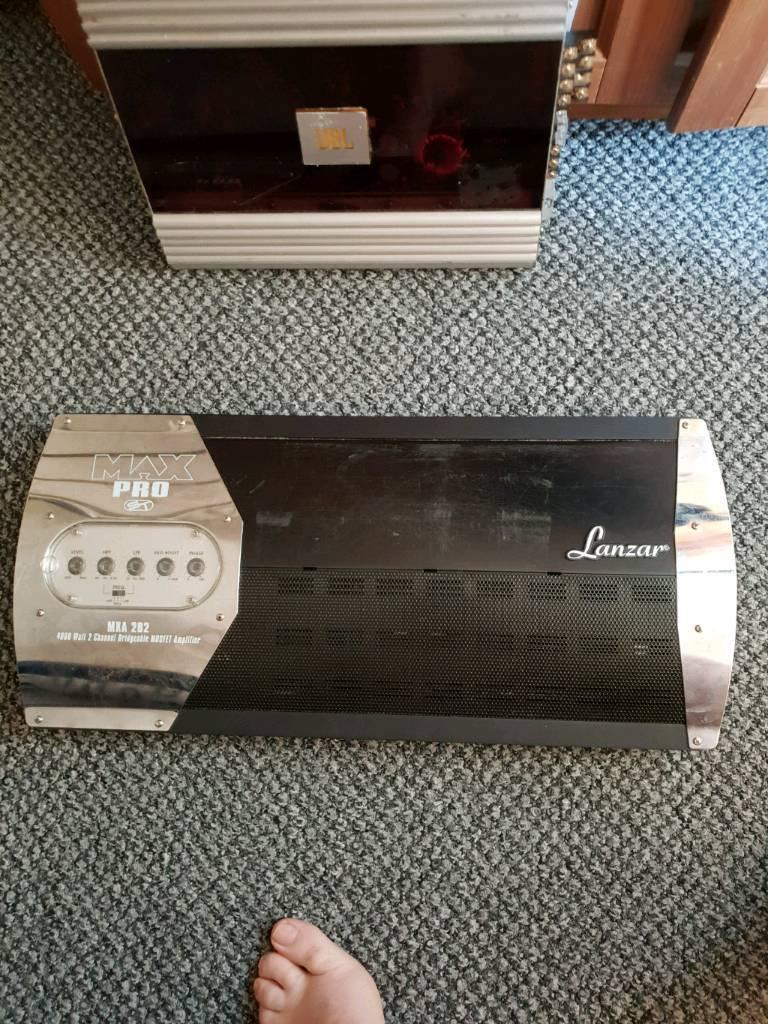 Lanzar mxa 282 amplifier   in Grays, Essex   Gumtree