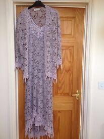 Ann Bolan Italian lace designer dress and jacket