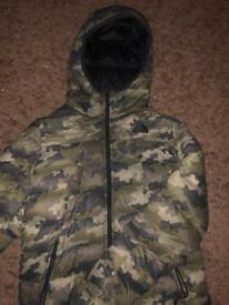 The North Face Camo Jacket/Coat