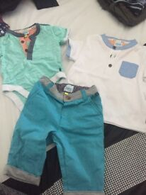 Excellent condition baby boys clothing