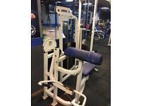 Life fitness bicep curl machine