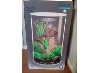 BIORB 30L led cylinder fish tank