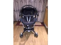 Quinny Zapp Xtra 2 stroller with NORMAL UNIT SEAT and a compatible CAR SEAT in very good condition