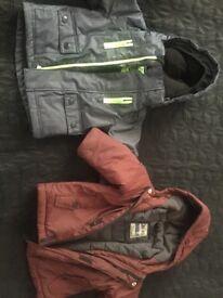 2 boys coat 12 months