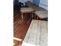 Vintage tables and chairs for sale