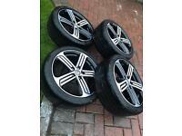 VW 18 Cadiz genuine wheels and Michelin tyres