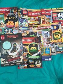Lego ninjago magazins