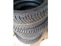 Winter Tyres 225/45 17 inch in new condition