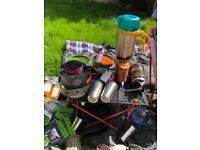 Camping cooking mega pack