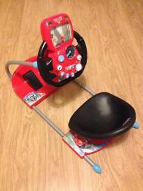 Disney cars smoby v8 drive simulator toy