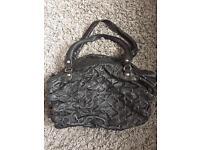 River island real leather handbag