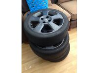 Set of corsa alloys