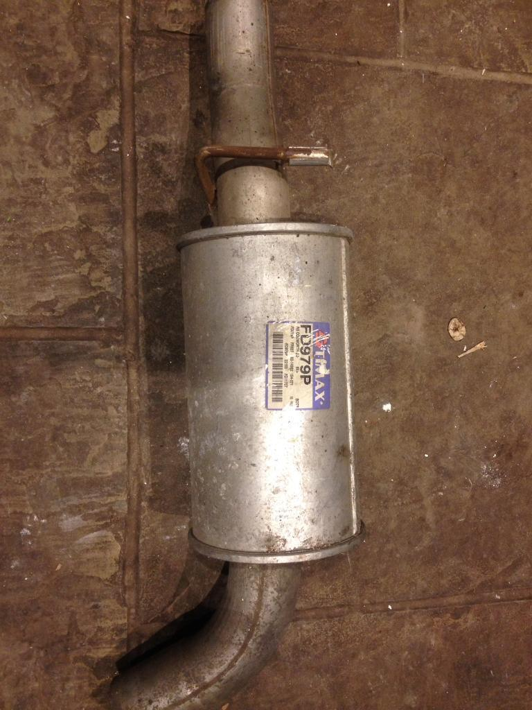 Genuine rs cosworth Timax full exhaust system
