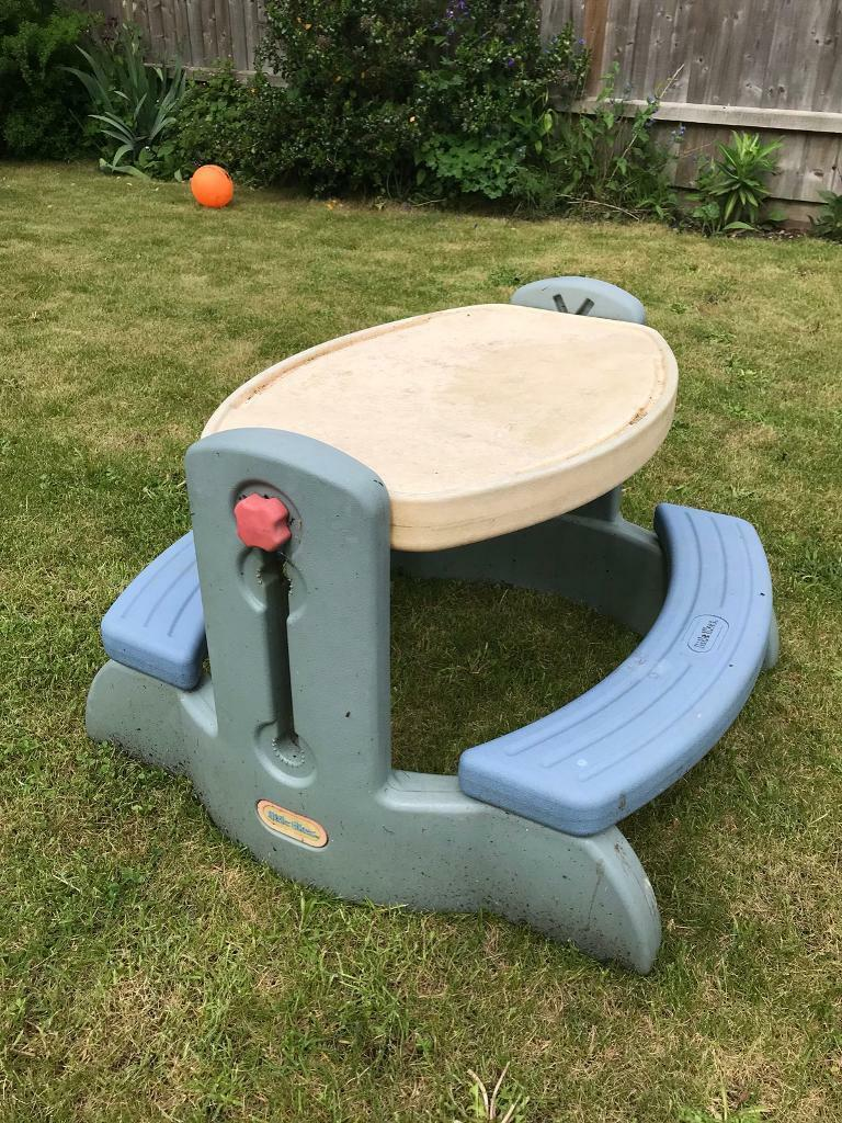 Free To A Good Home Little Tikes Picnic Table In Melbourn