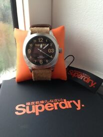 New superdry watch unwanted gift