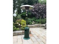 Gas patio heater- heavy duty suitable for home or professional use