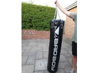 Punch bag 5ft with wall bracket and speed ball