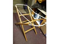 MOSES BASKET BASE - wooden - from mothercare
