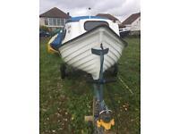 Orkney Cuddy Boat