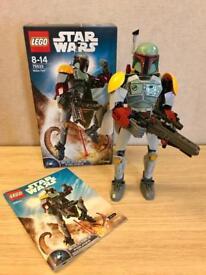 Lego Star Wars Boba Fett Big Figure 75533 Mini