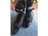 RCO Rocces Rome Roller Blades UK 10-12 1/2 Used