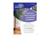 Cavity wall claim