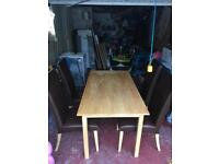 Table & 4 chairs £50