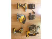 Dewalt cordless power tool set