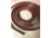 Copper earthing strip 25 mm x 3 mm x 12 metres. 7.8 kg