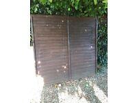 6x6 Fence panel, good condition