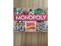 Marvel monopoly collectors addition good condition never been played only opened to look