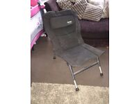 BADGER COCOON LOW DOWN FISHING CHAIR CARP SET UP CAMPING CHAIR