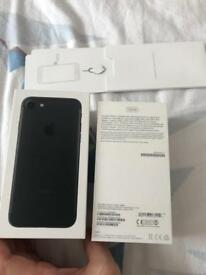 Iphone 7 unlocked 128 gb black