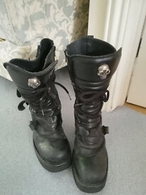 New Rock Size 41 Ladies Boots
