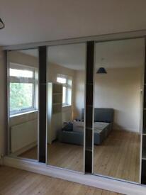 Wardrobe doors- sliding mirror
