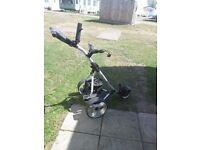 Pro rider golf trolley