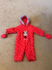 Minnie Mouse Snow Suit