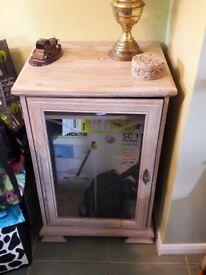 Solid Wood Hi Fi Cabinet